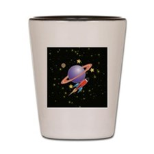RETRO-FUTURE-ROCKET-1x1_button Shot Glass