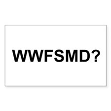 WWFSMD? Rectangle Decal
