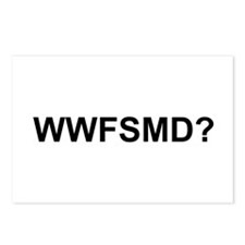 WWFSMD? Postcards (Package of 8)