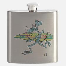 cafe messenger bag Flask