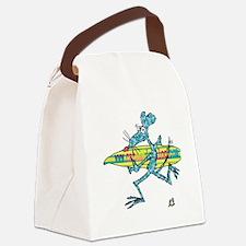 cafe messenger bag Canvas Lunch Bag