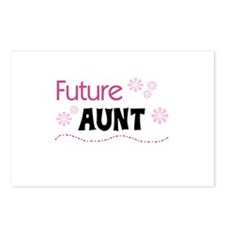 Future Aunt Postcards (Package of 8)