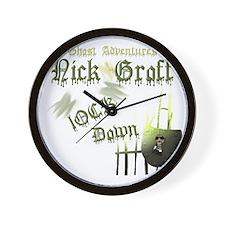 Nick Groff Wall Clock
