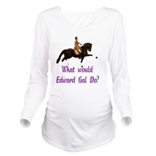 whatwouldgaldotrans Long Sleeve Maternity T-Shirt