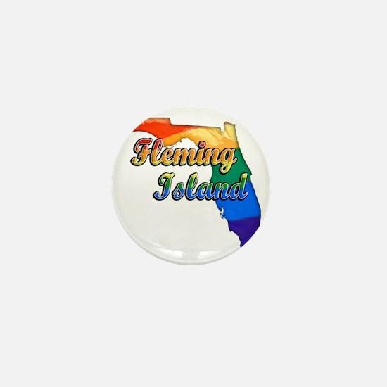Fleming Island Mini Button
