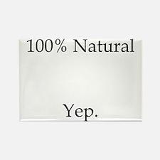 100% Natural Rectangle Magnet
