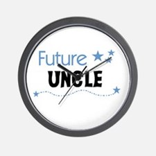 Future Uncle Wall Clock