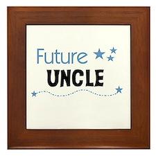 Future Uncle Framed Tile