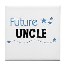 Future Uncle Tile Coaster