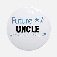 Future Uncle Ornament (Round)