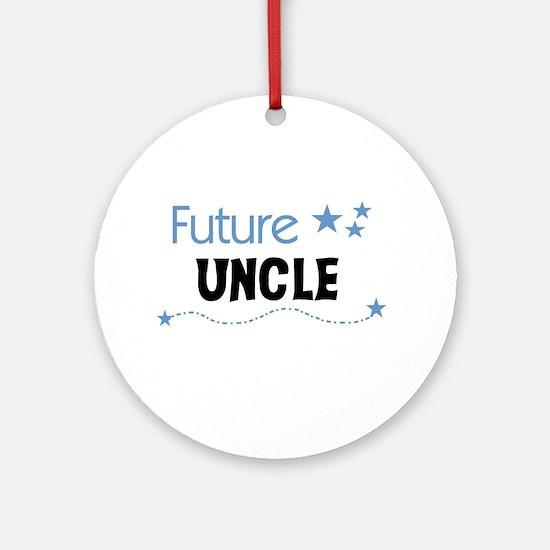 Future Uncle Ornament (Round)
