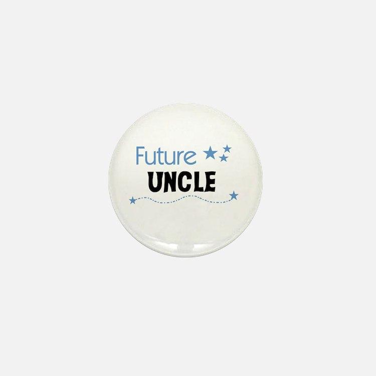 Future Uncle Mini Button