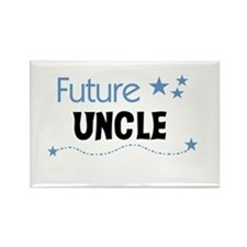 Future Uncle Rectangle Magnet