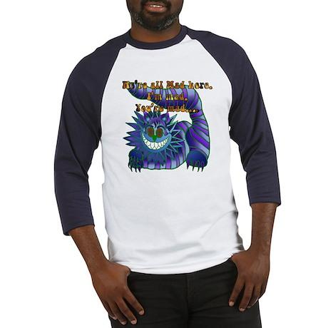 Mad Cheshire Cat Jade Baseball Jersey