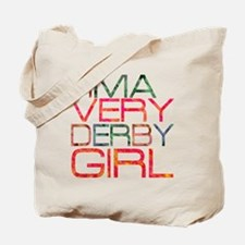 ima very derby girl_2  Tote Bag