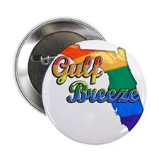 "Gulf Breeze 2.25"" Button"
