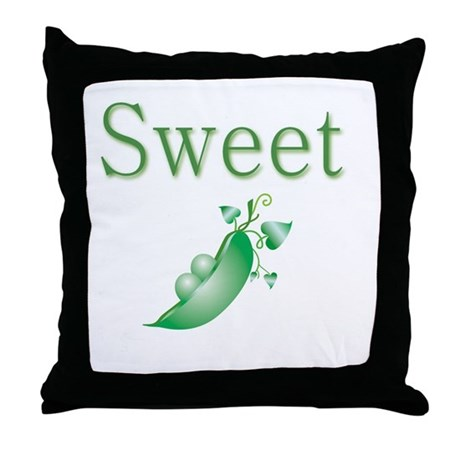 Sweet P Throw Pillow