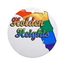 Holden Heights Round Ornament