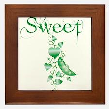 Sweet P vine Framed Tile