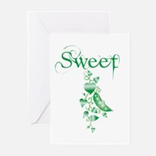 Sweet P vine Greeting Cards (Pk of 10)