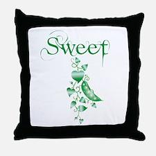 Sweet P vine Throw Pillow