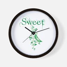 Sweet P vine Wall Clock
