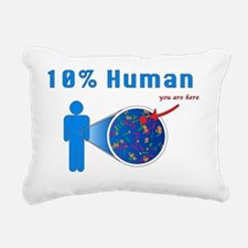 10p-Human Rectangular Canvas Pillow