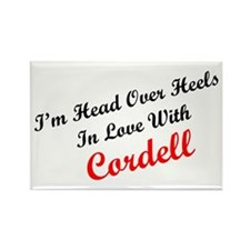 In Love with Cordell Rectangle Magnet