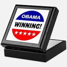 obama... winning! Keepsake Box