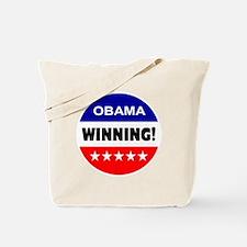 obama... winning! Tote Bag