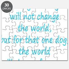 Save dog aqua Puzzle