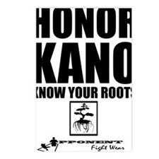 Honor Kano Postcards (Package of 8)