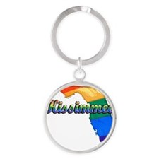 Kissimmee Round Keychain