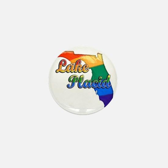 Lake Placid Mini Button