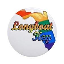 Longboat Key Round Ornament