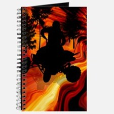 ATV on Road From Hell Twin Duvet Journal