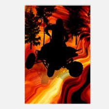 ATV on Road From Hell Twi Postcards (Package of 8)