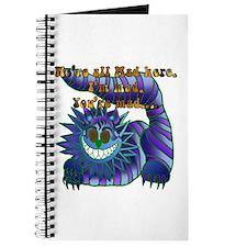 Mad Cheshire Cat Jade Journal