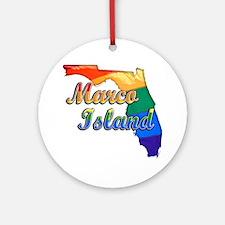 Marco Island Round Ornament