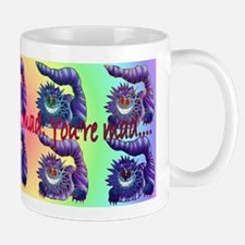 Mad Cheshire Cat Mug