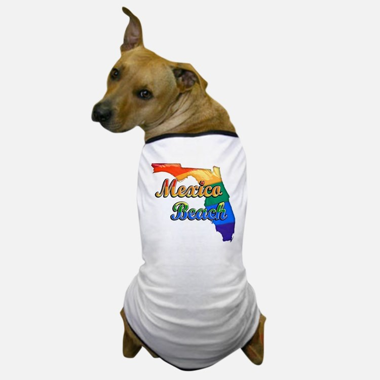 Mexico Beach Dog T-Shirt
