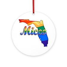 Micco Round Ornament