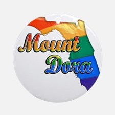 Mount Dora Round Ornament