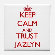 Keep Calm and TRUST Jazlyn Tile Coaster