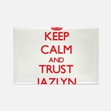 Keep Calm and TRUST Jazlyn Magnets