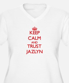 Keep Calm and TRUST Jazlyn Plus Size T-Shirt