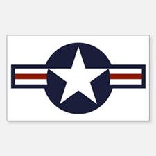 usaf marking Sticker (Rectangle)