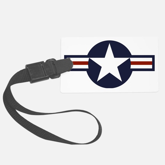 usaf marking Large Luggage Tag