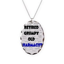 retired grumpy old pharmacist Necklace