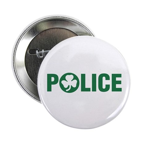 Irish Police Button